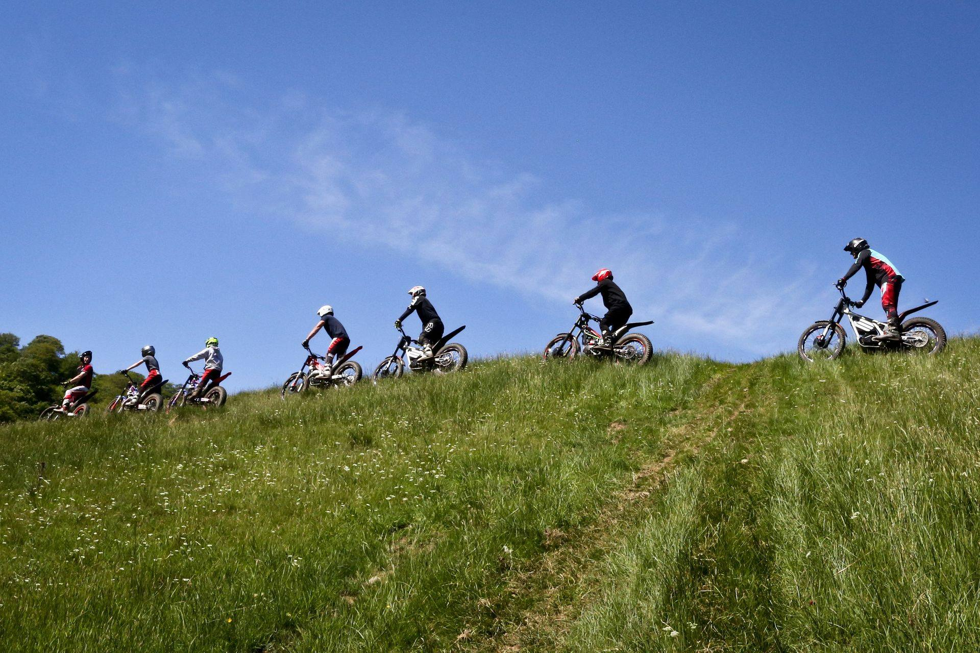 Motorcycle Trials Full-day outdoor adventure
