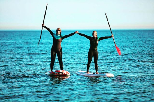 Introduction to Stand Up Paddleboarding Lesson